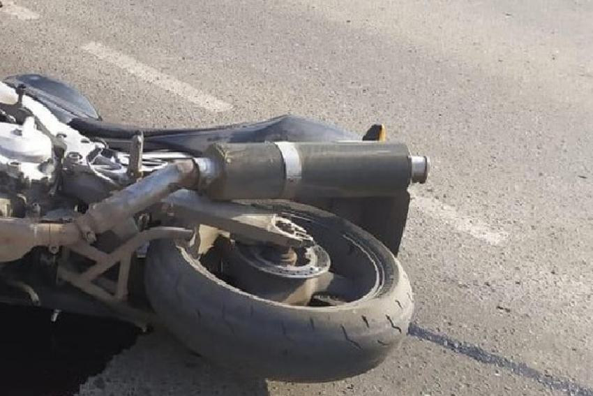 В ДТП с мотоциклом пострадал подросток