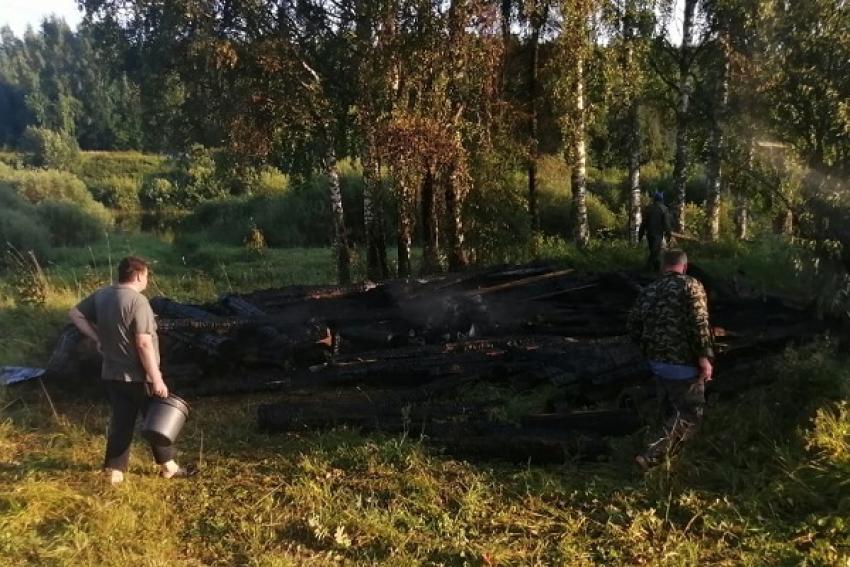 Гости протопили баньку - а получился пожар