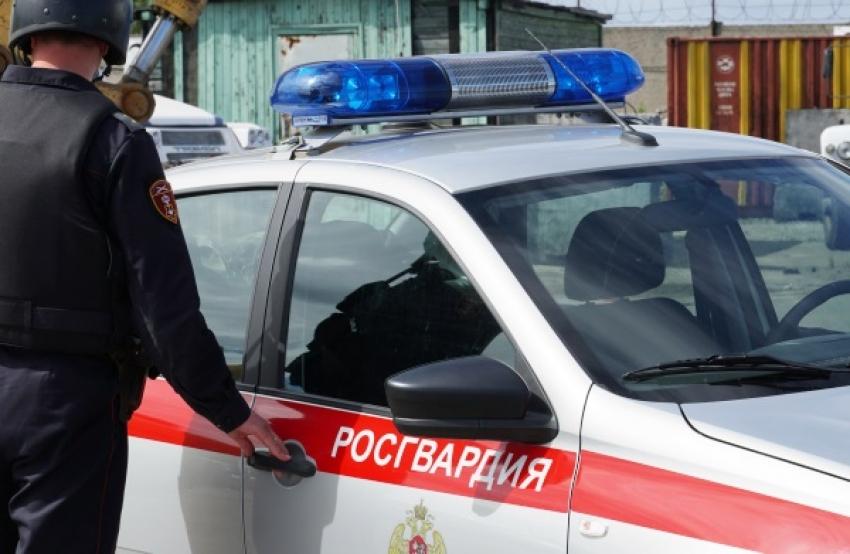В Северодвинске экипаж Росгвардии задержал подозреваемого в краже автомобиля
