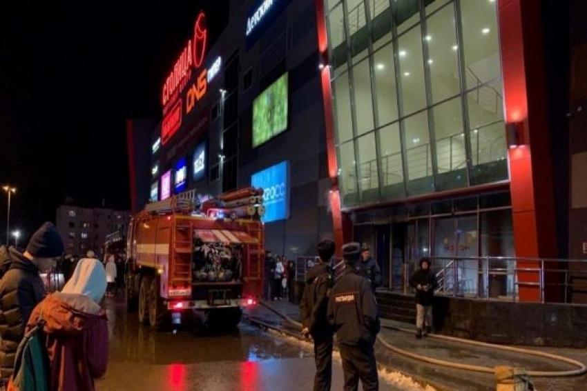 Прокуратурой области организована проверка по факту пожара в торговом центре «Столица» в г. Котлас