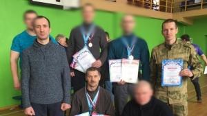Команда Росгвардии - серебряный призёр первенства «Динамо» по гиревому спорту