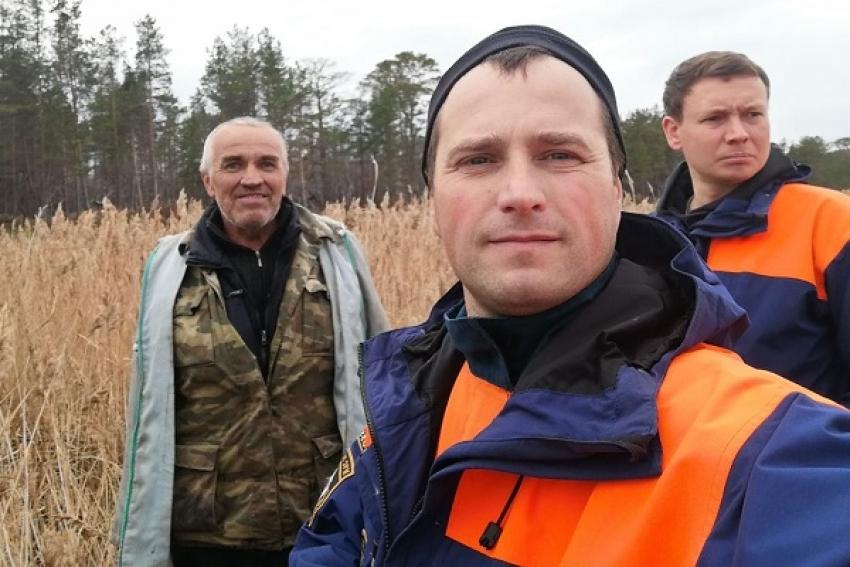 Спасатели нашли заблудившегося мужчину на острове в Белом море