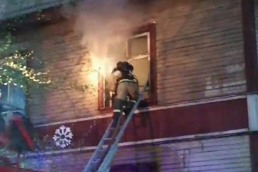 Две нежилых двухэтажки горели в Северодвинске