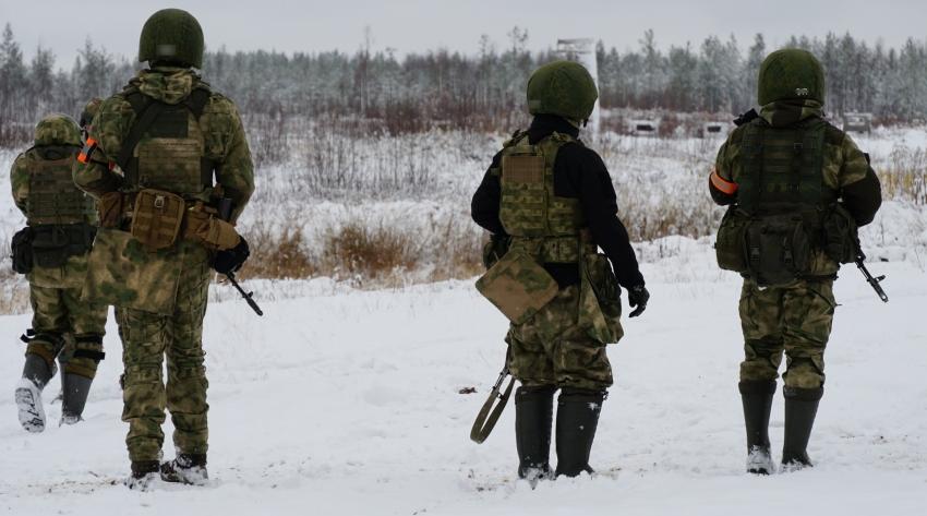 Отряд Росгвардии «Ратник» завершил обучение в полевых условиях