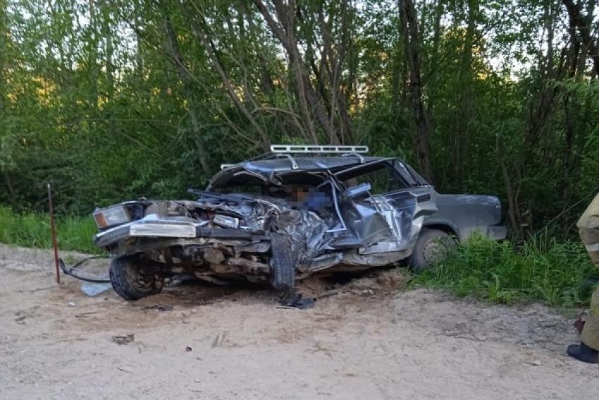 Пожилой водитель «Жигулей» погиб в результате ДТП