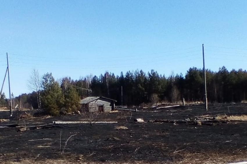 Количество пожаров за день в Архангельской области уже перевалило за 30