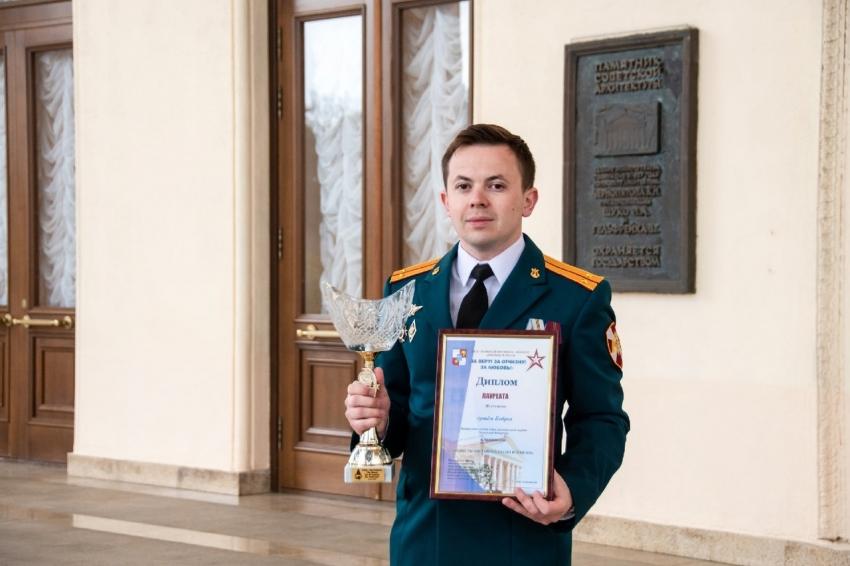 Уроженец Архангельска, проходящий военную службу в Росгвардии, стал лауреатом фестиваля армейской песни