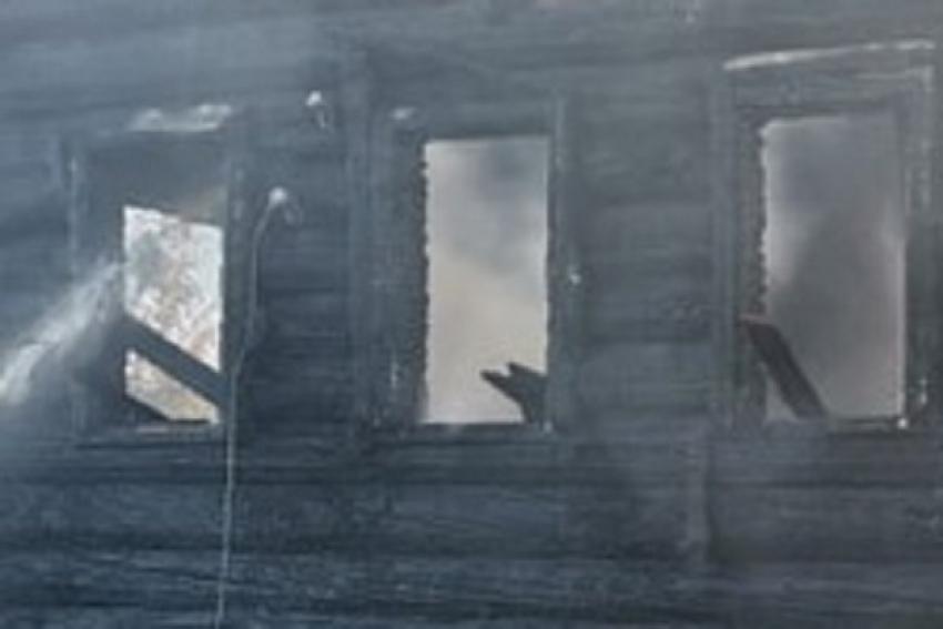 При пожаре в жилом доме погиб человек
