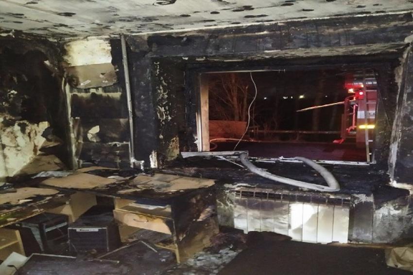 Нетрезвый курильщик устроил пожар в многоквартирном доме