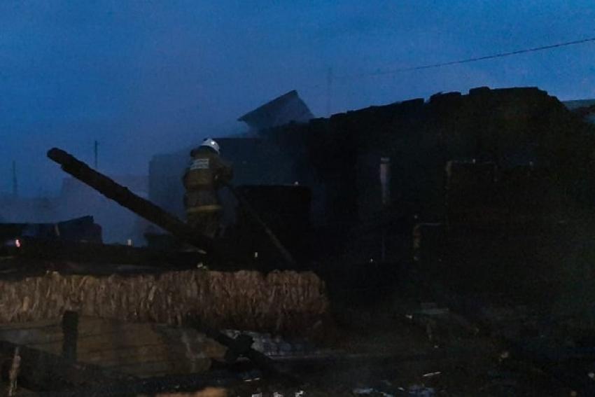 В Шипицыно (Котласский район) сгорел нежилой дом