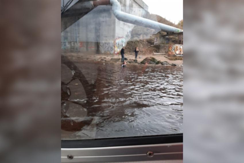 Ссора закончилась попыткой суицида: с Кузнечевского моста прыгнули в воду двое молодых людей