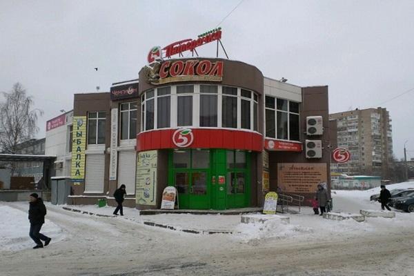 Пожар в ТЦ «Сокол»: огнём поврежден зоомагазин (Архангельск)