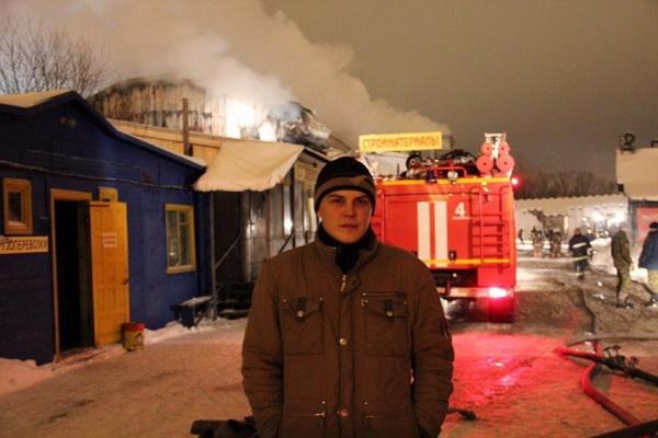 Сотрудник пожарной охраны погиб в результате несчастного случая