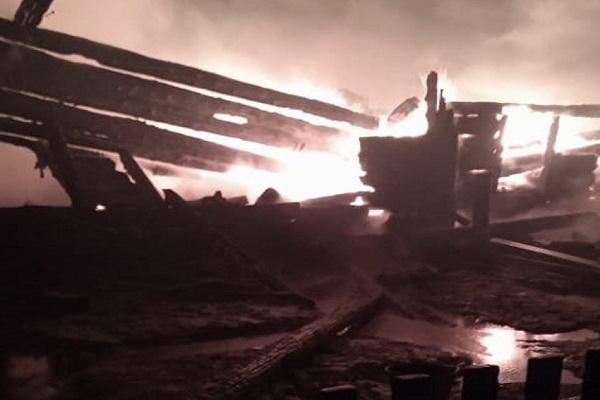 Использование обогревателя привело к пожару и гибели женщины