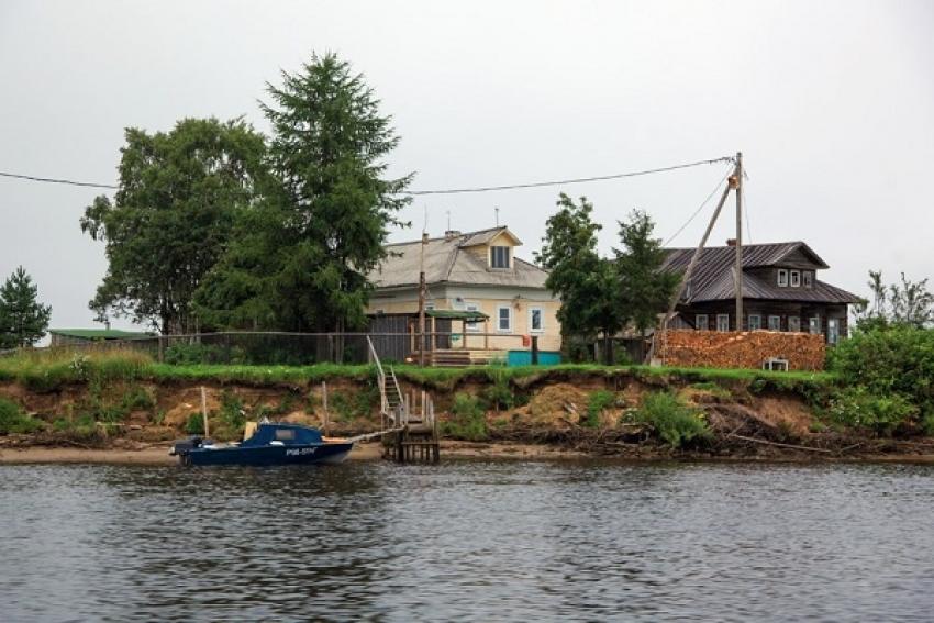 У д. Долгое в дельте Северной Двины утонул мужчина