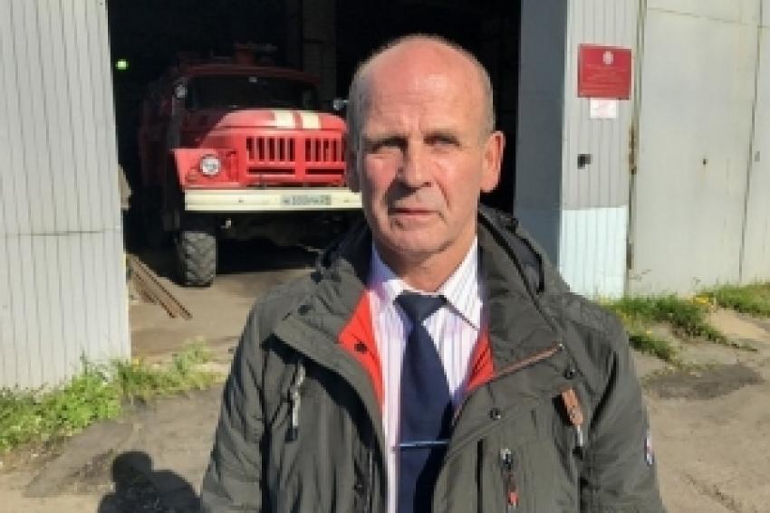 Знакомьтесь: Владимир КОТРЕХОВ. «Генератор пожарного добровольчества» Приморского района